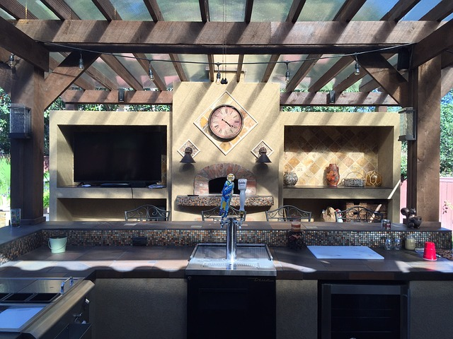 מטבחי חוץ מודרניים