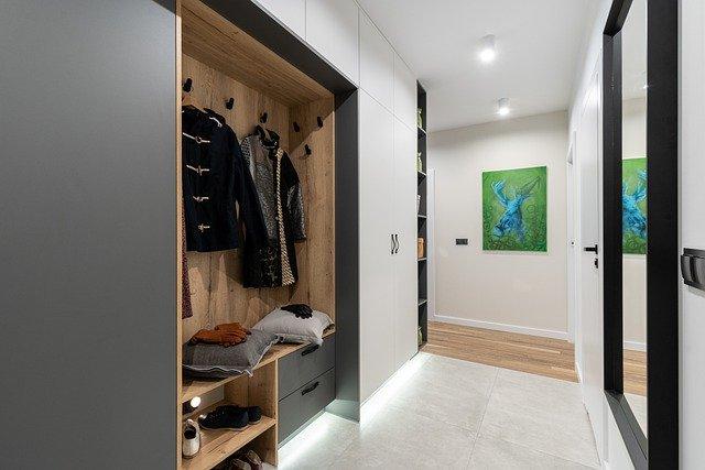 עיצוב חדר הארונות